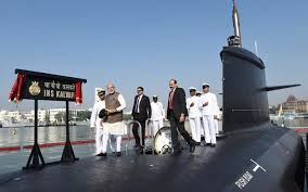 ins china commissioning ins kalvari pm narendra modi has a message for china