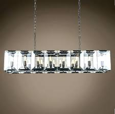 glamorous collection restoration hardware chandelier halo crystal like large