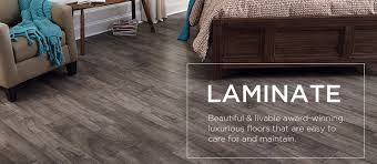 laminate offers beautiful looks that emulate the elegance of porcelain tile and the warmth of hardwood but with the easy maintenance and super durability