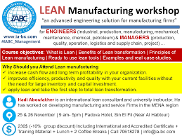 What Is Lean Lean Manufacturing Workshop Lebtivity