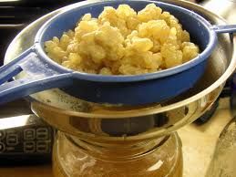 kefir grains. start kefir grains