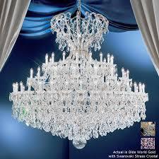 classic lighting 72 light maria theresa olde world gold crystal chandelier