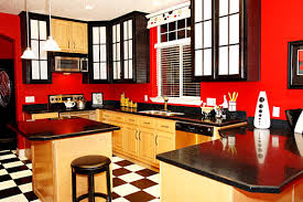 kitchen color ideas red. Inspirations Kitchen Color Ideas Red White Black And Design Kitchendecorate T