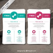 Brochures Templates Free Download Gym Brochure Template 25 Fitness Gym Brochure Templates Ideas