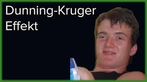 Warum Dumme Menschen Sich Für Schlau Halten Der Dunning Kruger