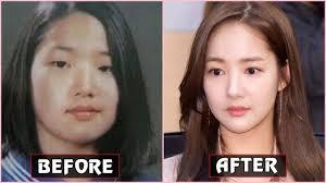 korean celebrities before after makeup