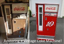 Vending Machine Repair Course Custom Restoring A 48's Coke Machine 48 Steps With Pictures