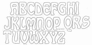 Alphabet Outline Template 4 Alphabet Outline Templates Pdf Free Premium Templates