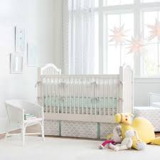 french gray and mint quatrefoil crib bedding 2 piece crib set share 1