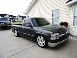 Pickup 99 chevy pickup : 99 rcsb storm grey silverado lowered 5/8 drop on brand new ltz 20 ...