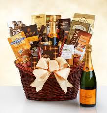 veuve clic luxury chagne gift basket