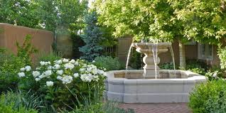 colorful outdoor fountains commercial water fountain concrete fountains