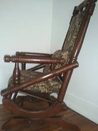 antique wooden rocking chair identification how old is this antique wooden rocking chair my antique