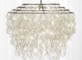 teardrops capiz chandelier reviews cb2