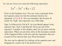 so lets see if you can create the following expression on the equation