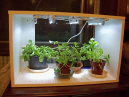 Herb Kitchen Garden Interesting Led Kitchen Garden Supporting Proper Herb Environment