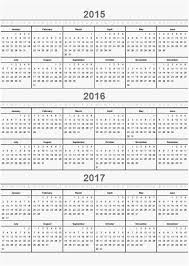 30 2015-2016 Calendar Template Free | Template Design Ideas