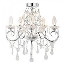 traditional chrome glass bathroom chandelier 5 light for lighting design 18