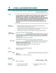 Resumes For Nurses Template Classy Nursing Grad Resume Sample New Rn Examples Nurse Template Resumes