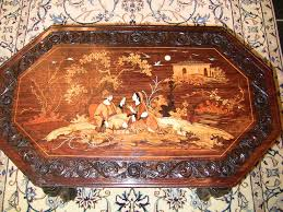 Indian Coffee Table 20c Indian Inlaid Elephant Leg Coffee Table Rockwell Antiques Dallas