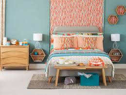 modern vintage style bedrooms.  Style Modern Retro Bedroom With Angular Prints 2 To Vintage Style Bedrooms