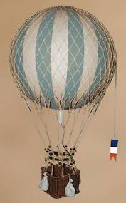 steam punk kids rooms - hot air balloon I was given a hanging hot air  balloon