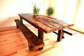 wood dining table bench grey wooden dining table bench wood with gray rustic room sets for
