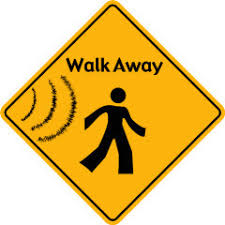 Image result for walk away