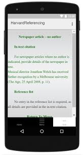 Harvard Referencing Style For Android Apk Download
