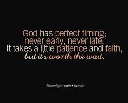 Gods Timing Quotes Interesting Trust In God's Timing Inspiring Quotes And Sayings Juxtapost