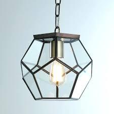 glass light pendants clear glass prism pentagon pendant light glass light pendants for kitchen glass light pendants