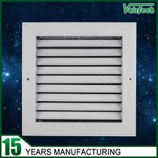 Decorative Return Air Vent Cover Air Conditioner Decorative Metal Wall Return Air Vent Grille