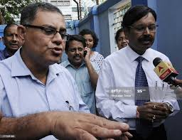Dr. Pradip Saha, Directer of the Institute of Psychiatry, Dr. Ashish...  News Photo - Getty Images