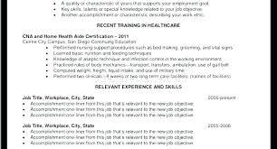 Resume Examples Cna Experience Resume Resume Samples Sample Amazing Sample Cna Resume Skills