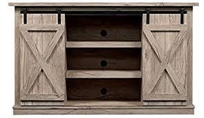 fort smart wrangler sliding barn door tv stand ashland pine