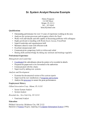 Cover letter business systems analyst  SKINNY FORCES ML