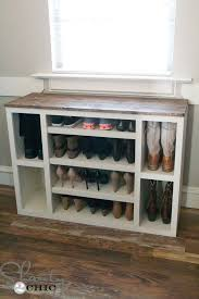 diy shoe storage bench lovely 268 best diy closet organization images on of diy shoe