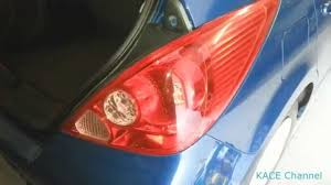 2008 Nissan Versa Brake Light Bulb How To Replace Nissan Tiida Versa Tail Light Bulb