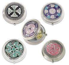 Decorative Pill Boxes Gifts Under 100 Large Enameled Pill Box 2