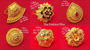 Gold Bridal Ring Designs Latest Gold Bridal Ring Designs With Weight And Price