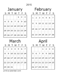 Printable 2015 Calendars By Month Download 2015 Printable Calendars