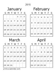 Download 2015 Printable Calendars