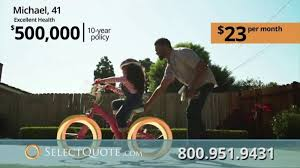 Select Quote Life Insurance TV Commercial 'Promises' ISpottv Magnificent Select Quote Life