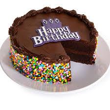 Chocolate Happy Birthday Cake By Cheesecakecom