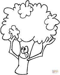 Lekker Broccoli Kleurplaat Gratis Kleurplaten Printen
