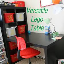 awesome versatile lego table has lego storage and place to build isn t