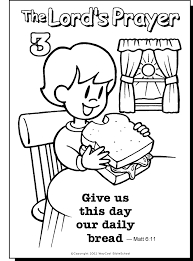 Parents, teachers, churches and recognized nonprofit organizations may print or copy multiple preschool coloring pages, sheets or pictures for use at home or in the classroom. The Lord S Prayer Coloring Pages For Children Coloring Home
