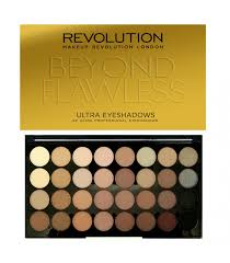 makeup revolution palette of 32 beyond flawless paleta 32 cieni do powiek