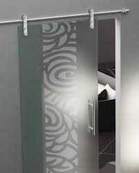 stunning home decor with sandblasted glass doors delectable image of home exterior decoration using sliding