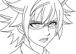 fairy tail coloring pages. Delighful Fairy Fairy Tail Anime Coloring Pages Tales  Printable  On G